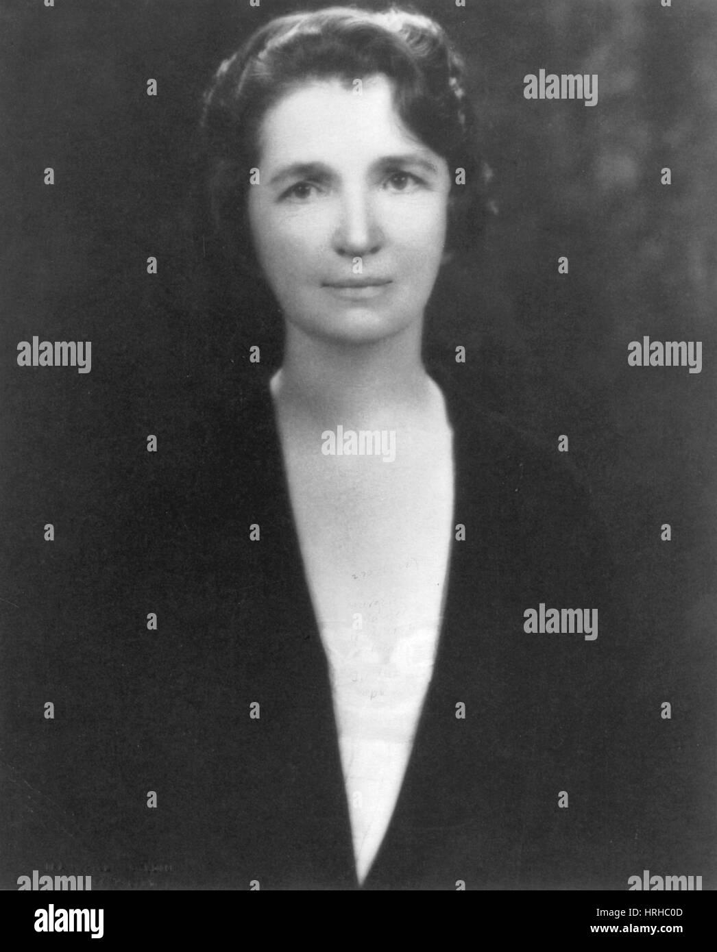 Margaret Sanger, American Social Reformer - Stock Image