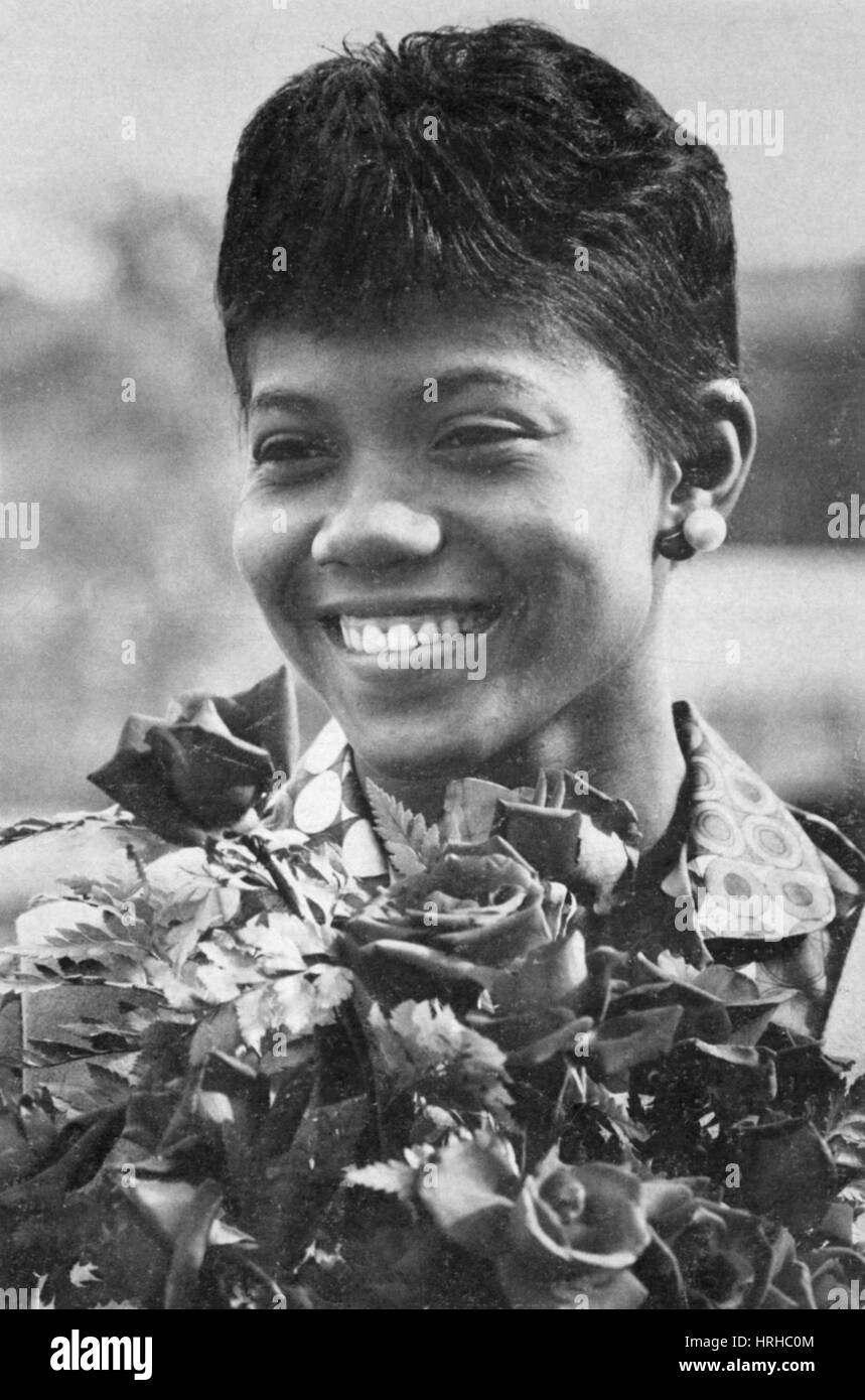 Wilma rudolph stock photos wilma rudolph stock images alamy wilma rudolph american olympian stock image voltagebd Choice Image