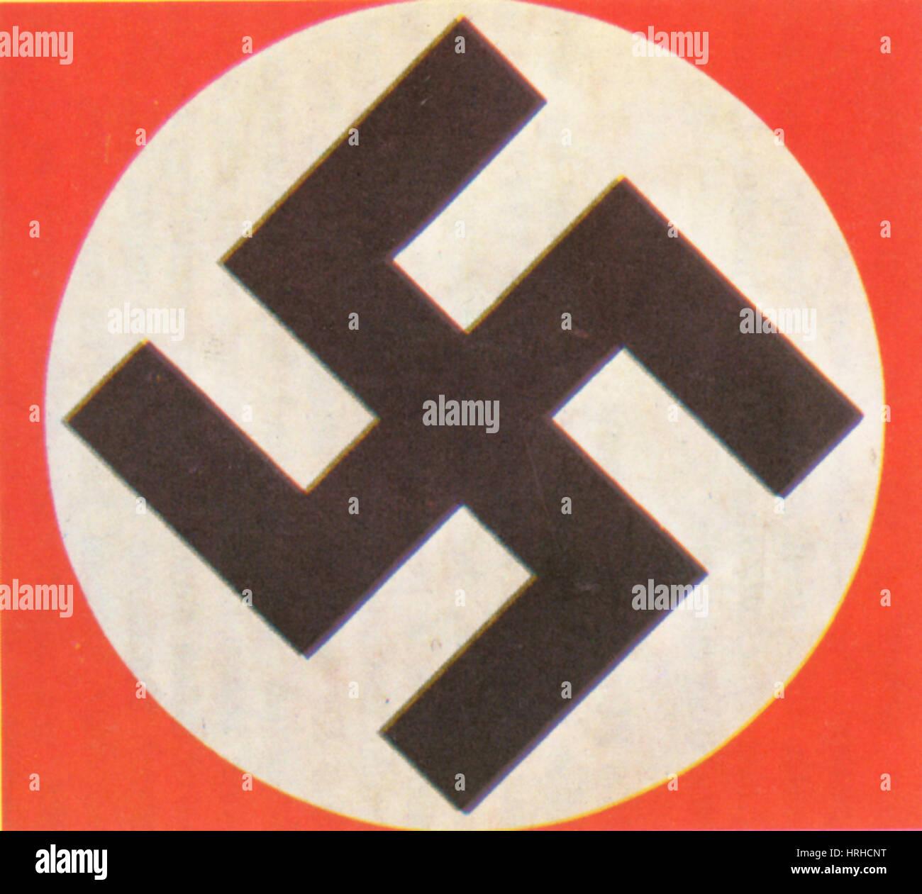 Nazi Swastika - Stock Image
