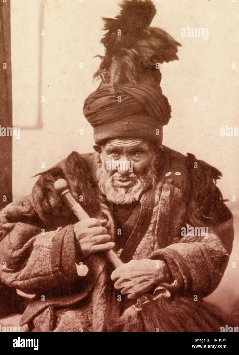 Dancing Dervish of Khotan - Stock Image