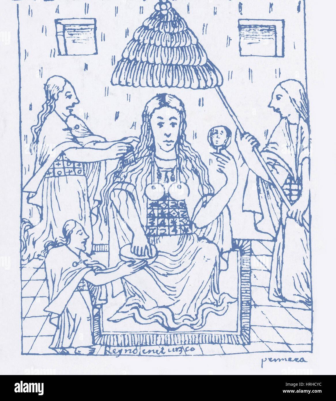 Mama Coya, Incan Empress - Stock Image