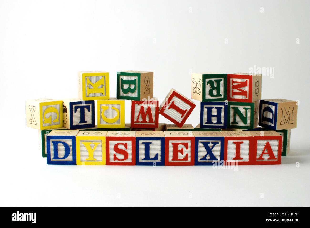 Dyslexia - Stock Image