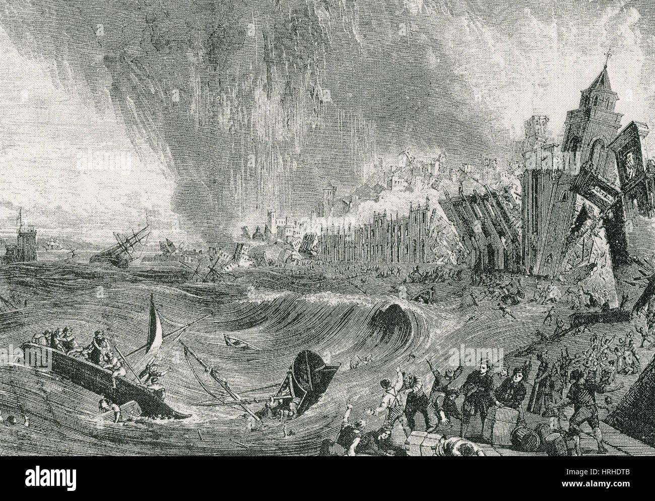 Lisbon Tsunami, 1755