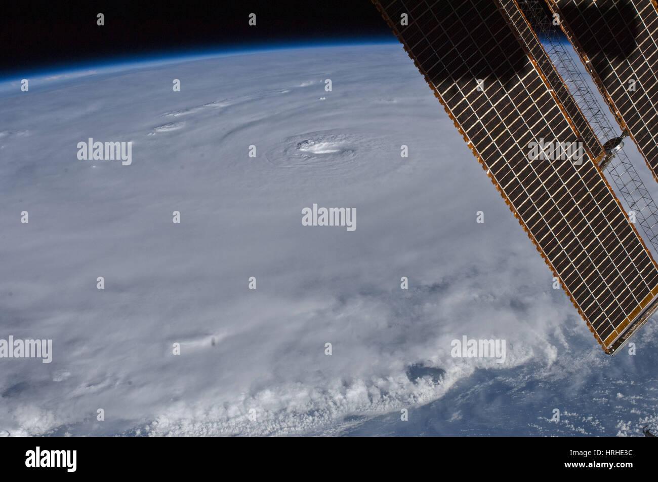 Hurricane Earl - Stock Image