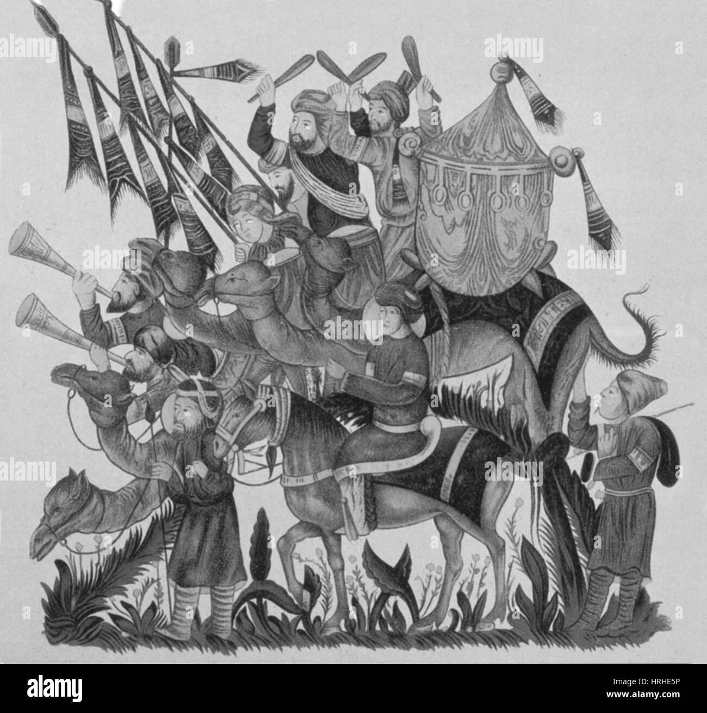 The Crusades, Turkish Muslims - Stock Image