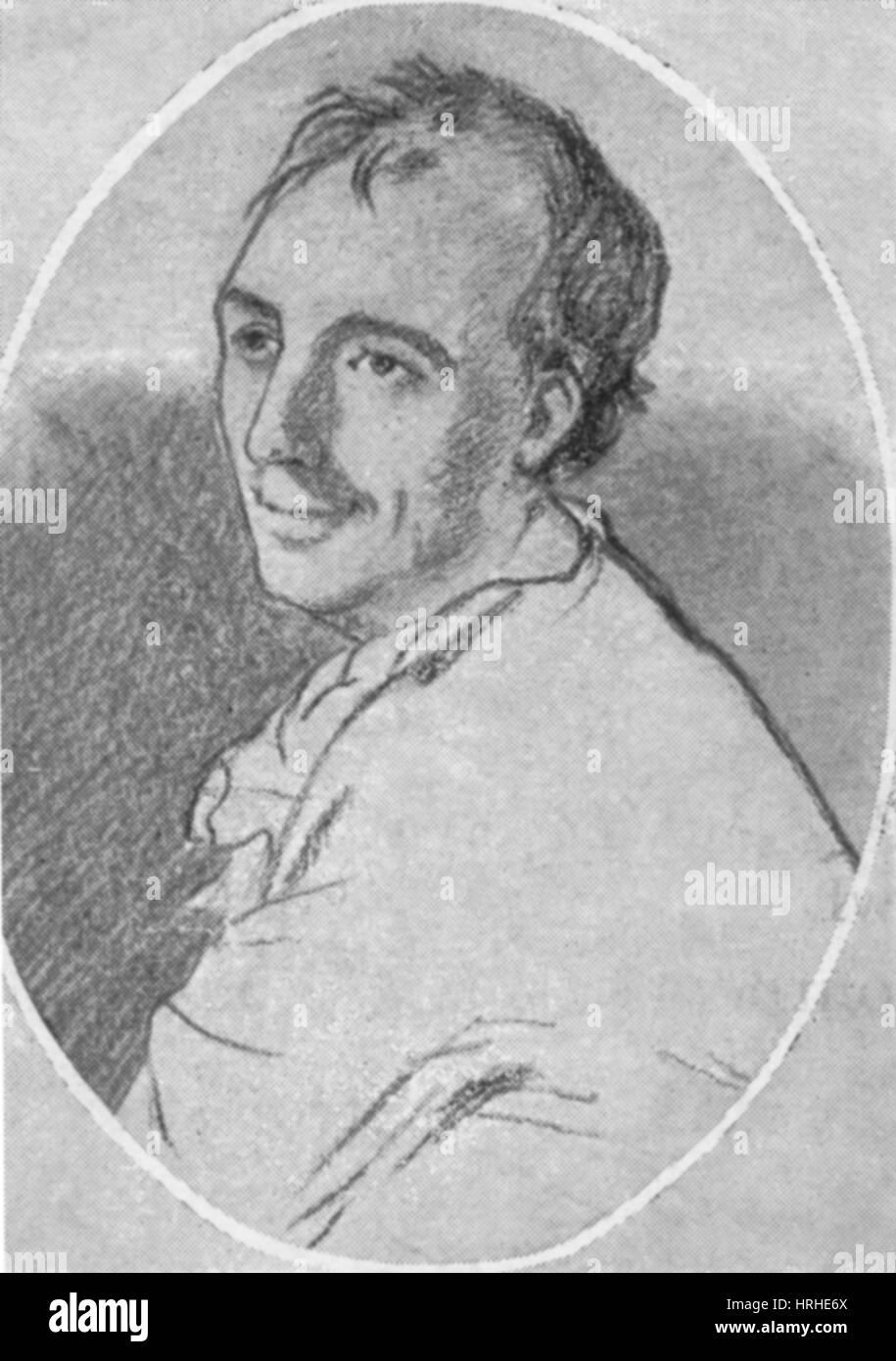 Laurence Eusden, English Poet Laureate - Stock Image