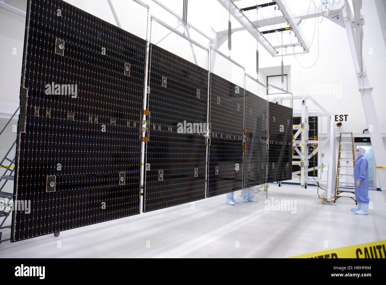 Dawn Spacecraft Solar Panels - Stock Image