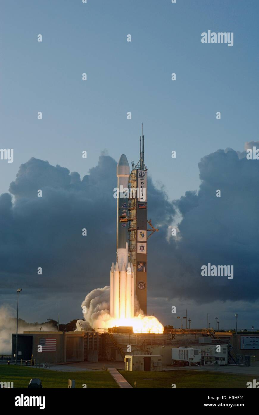 Dawn Spacecraft Launch, 2007 - Stock Image