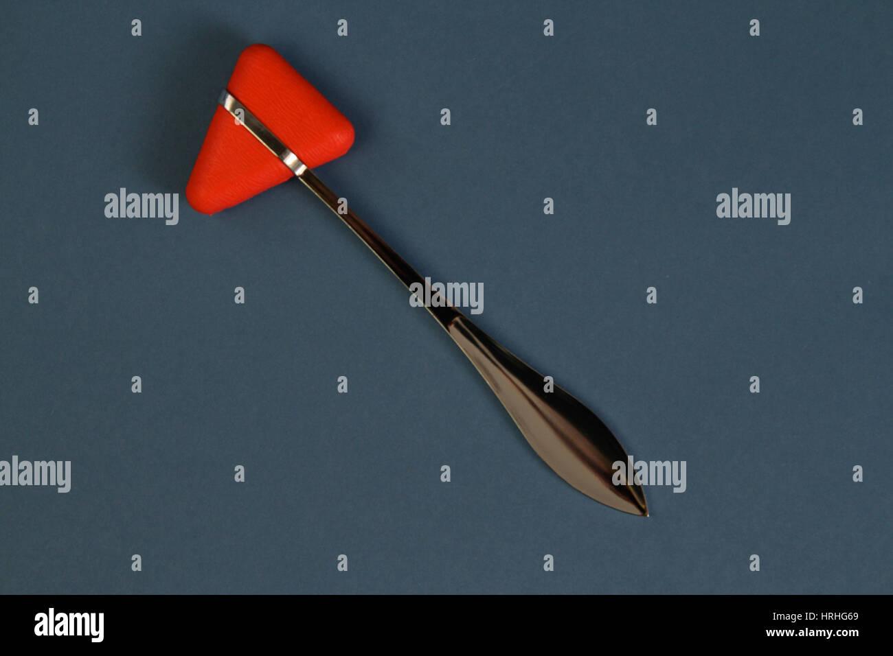Reflex hammer Stock Photo