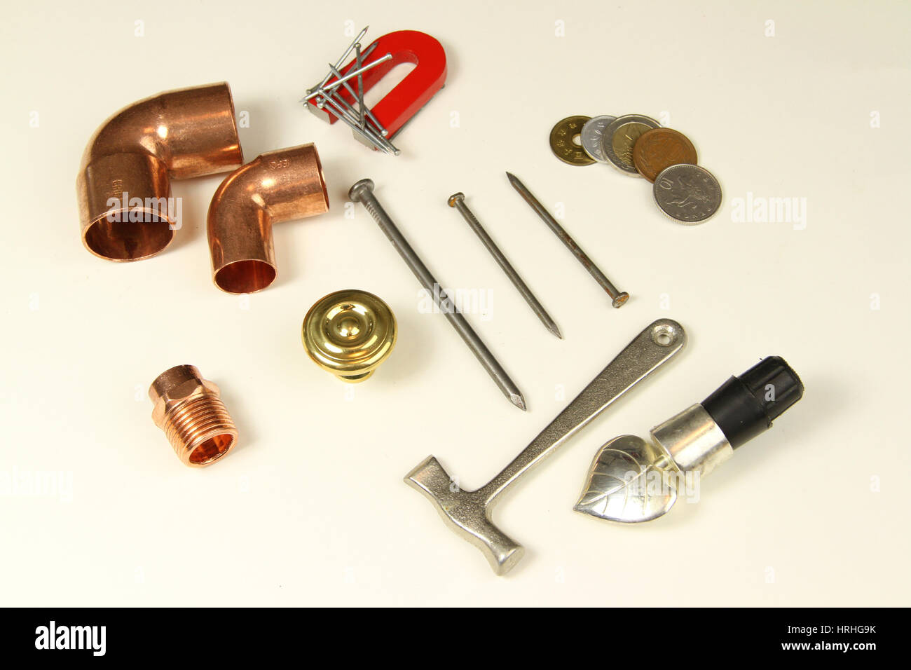 Metal objects - Stock Image