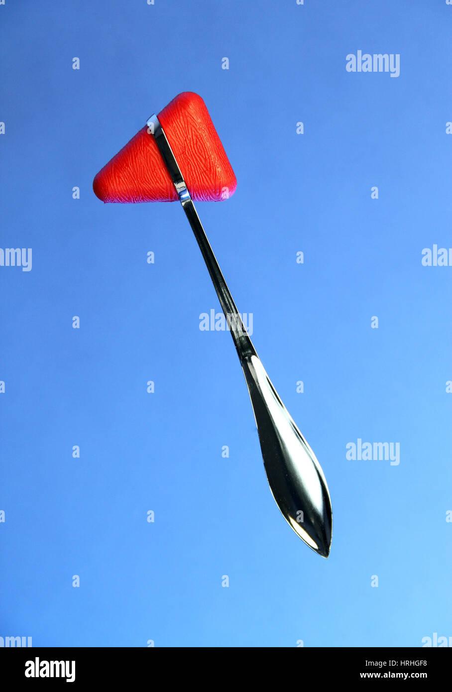 Taylor Reflex Hammer - Stock Image