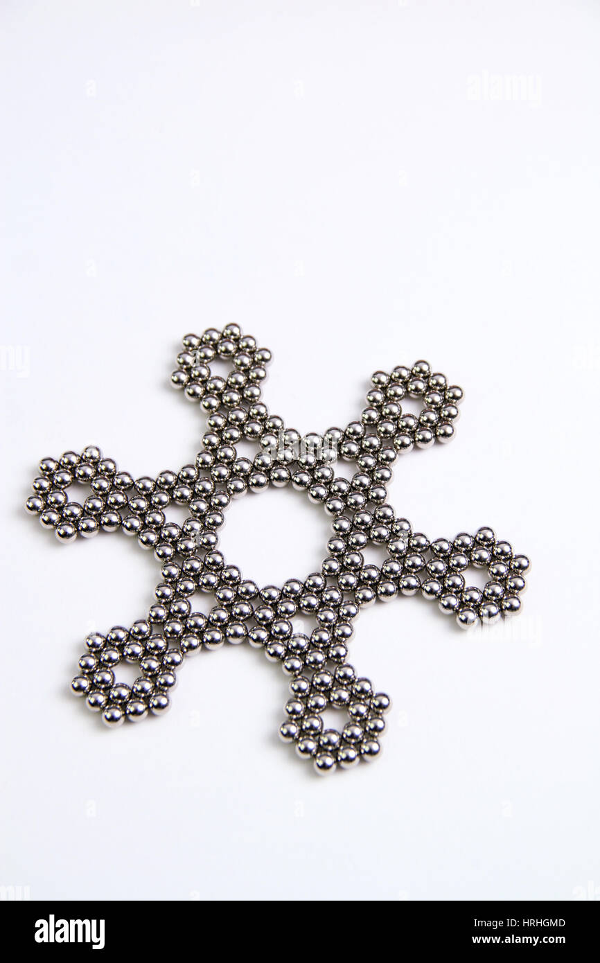 Rare-earth Magnets - Stock Image
