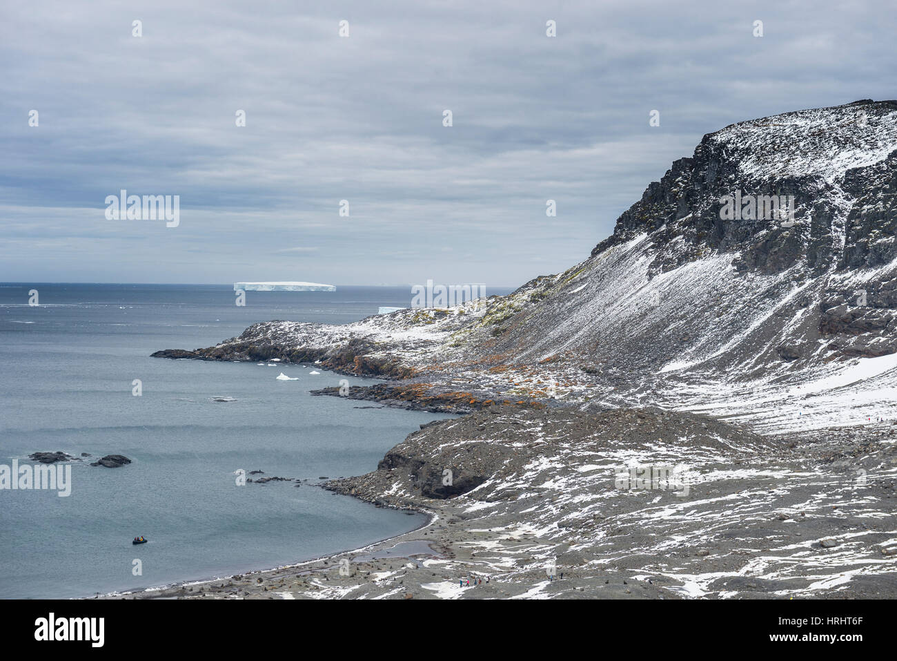 View over Coronation Island, South Orkney Islands, Antarctica, Polar Regions - Stock Image
