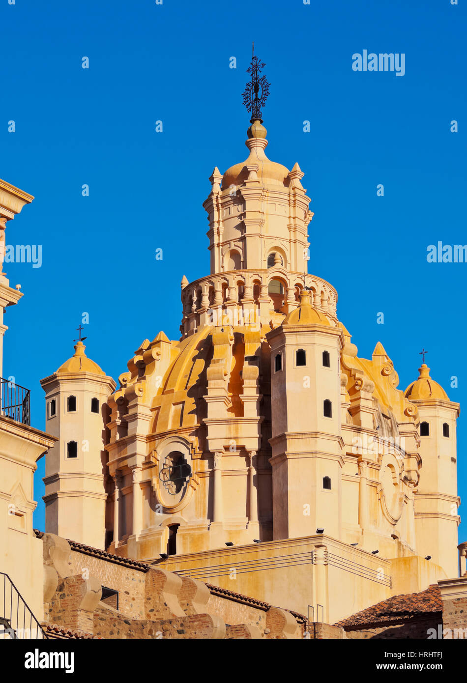 Detailed view of the Cathedral of Cordoba, Cordoba, Argentina - Stock Image