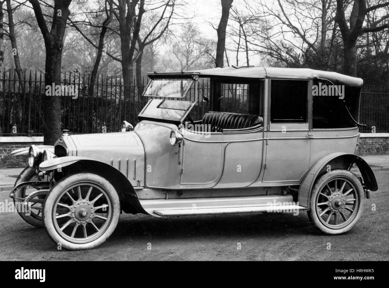 1914 Excelsior 16hp - Stock Image