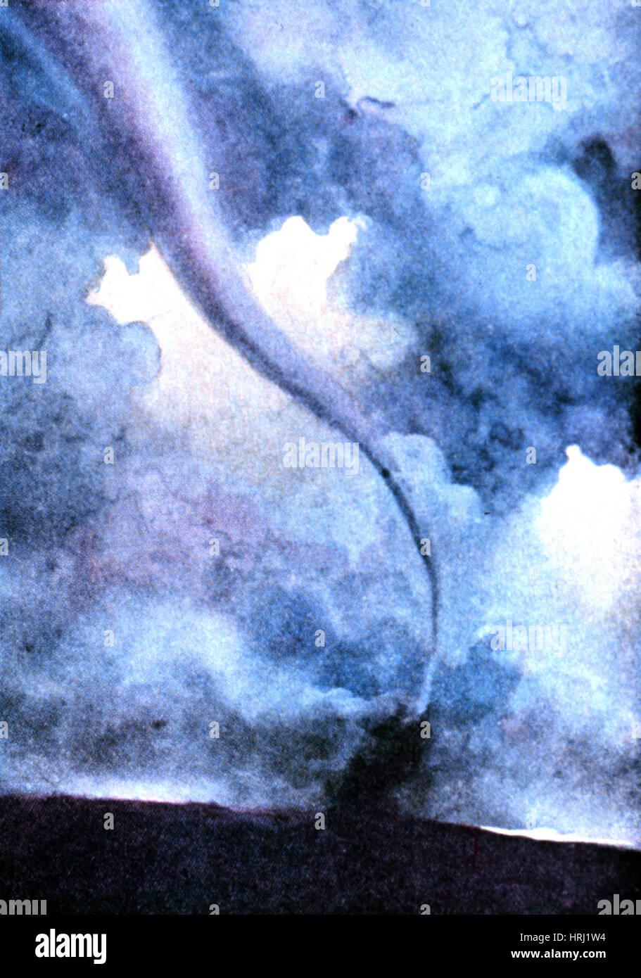 Tornado, 1931 - Stock Image