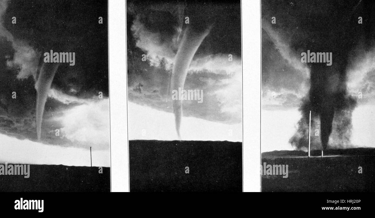 Tornadoes, 1930 - Stock Image