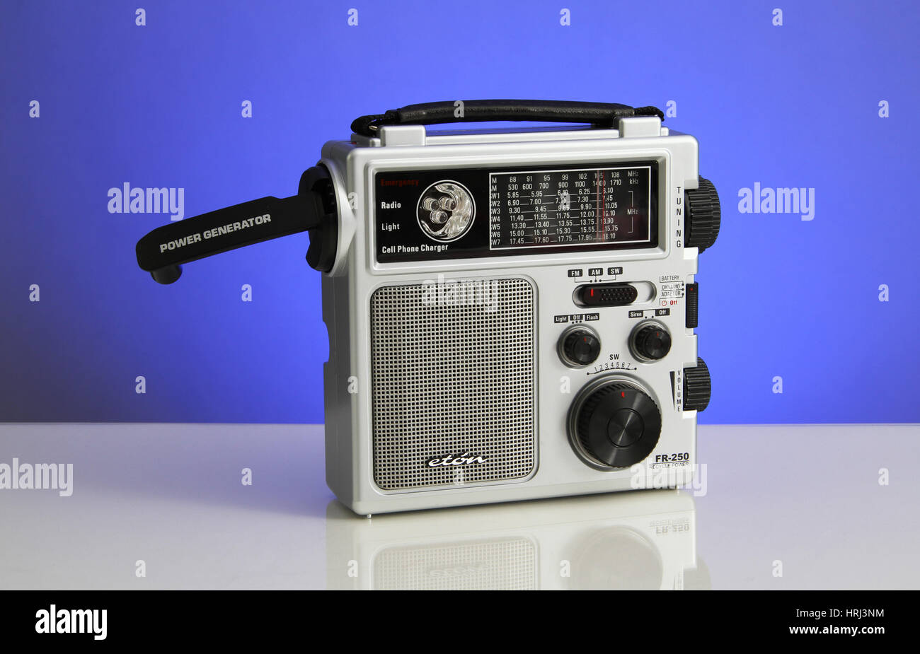 Wind-up Radio - Stock Image