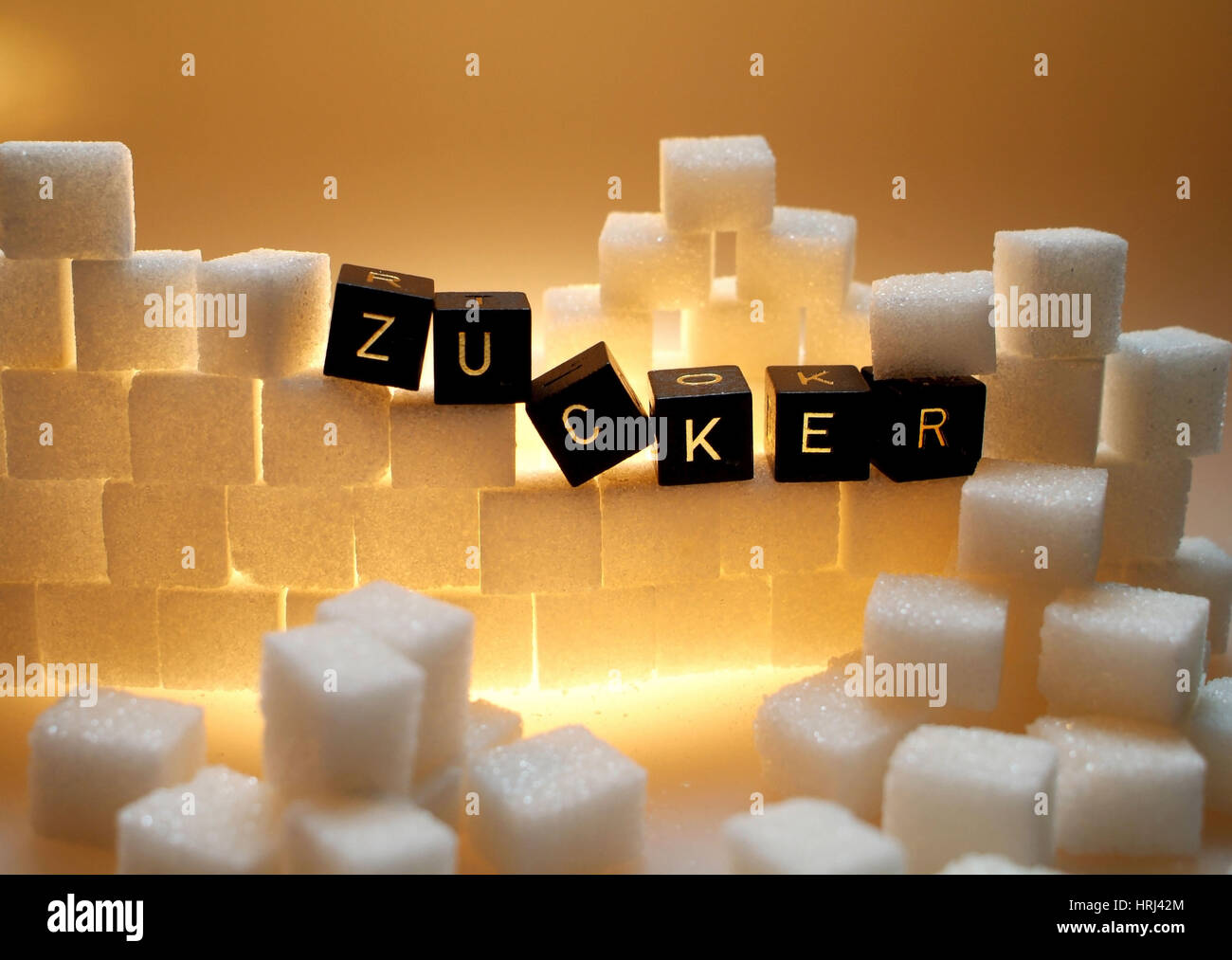 Symbolbild Zucker Symbolic Sugar Stock Photos Symbolbild Zucker