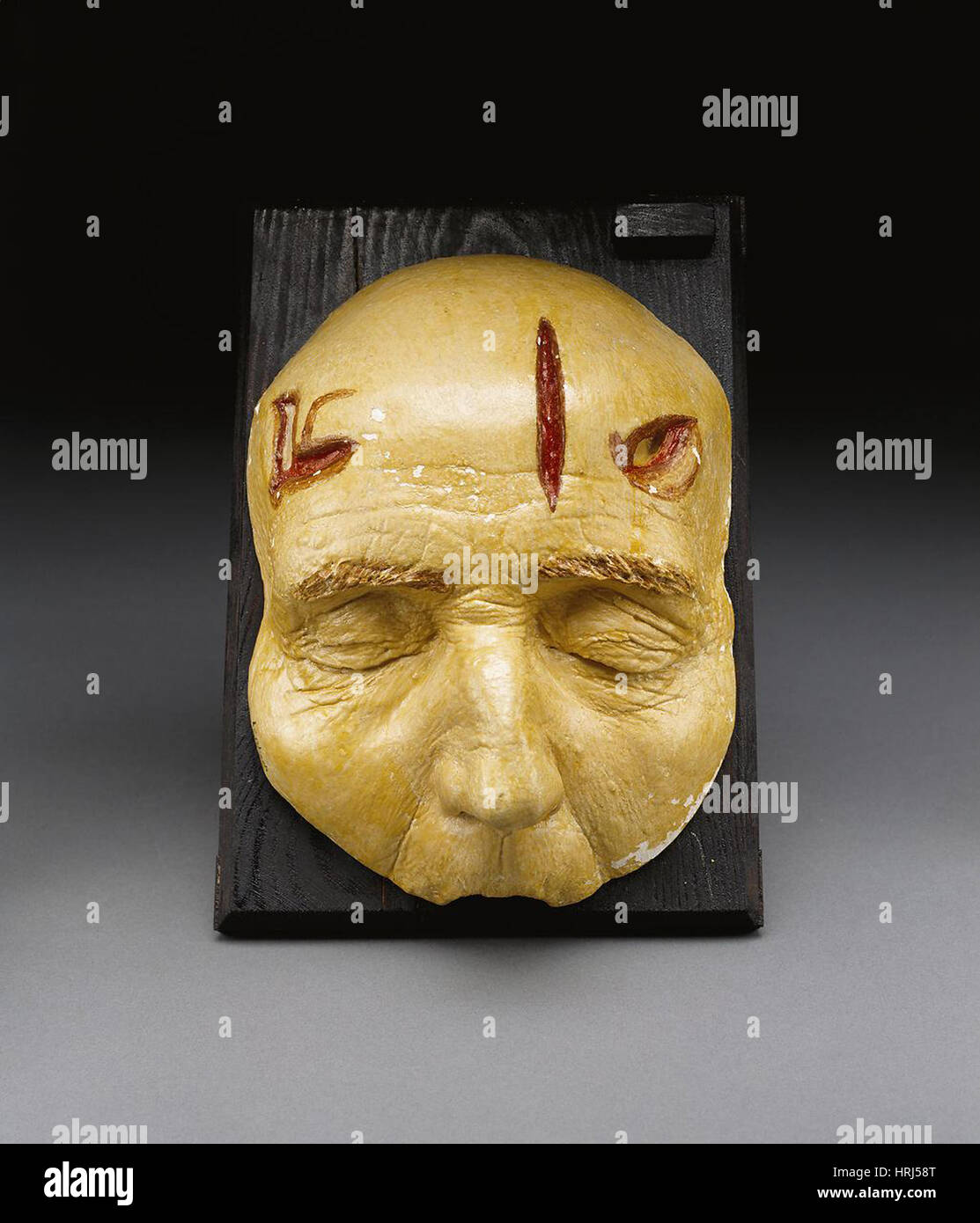 Death Mask, Incision, Laceration and Stab Wounds, 1965 - Stock Image