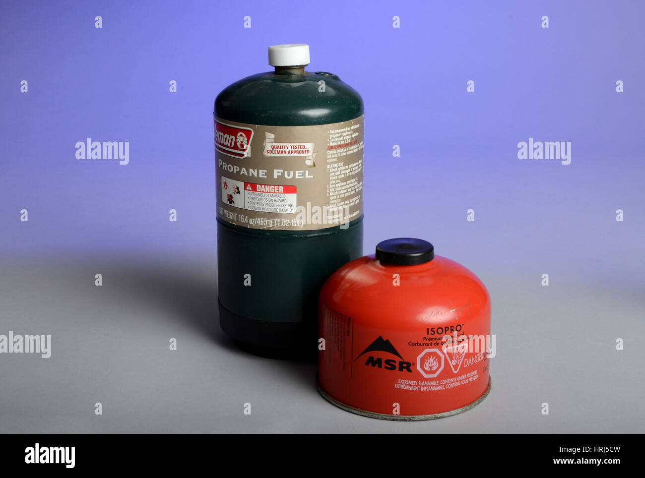 Propane and Isopro - Stock Image