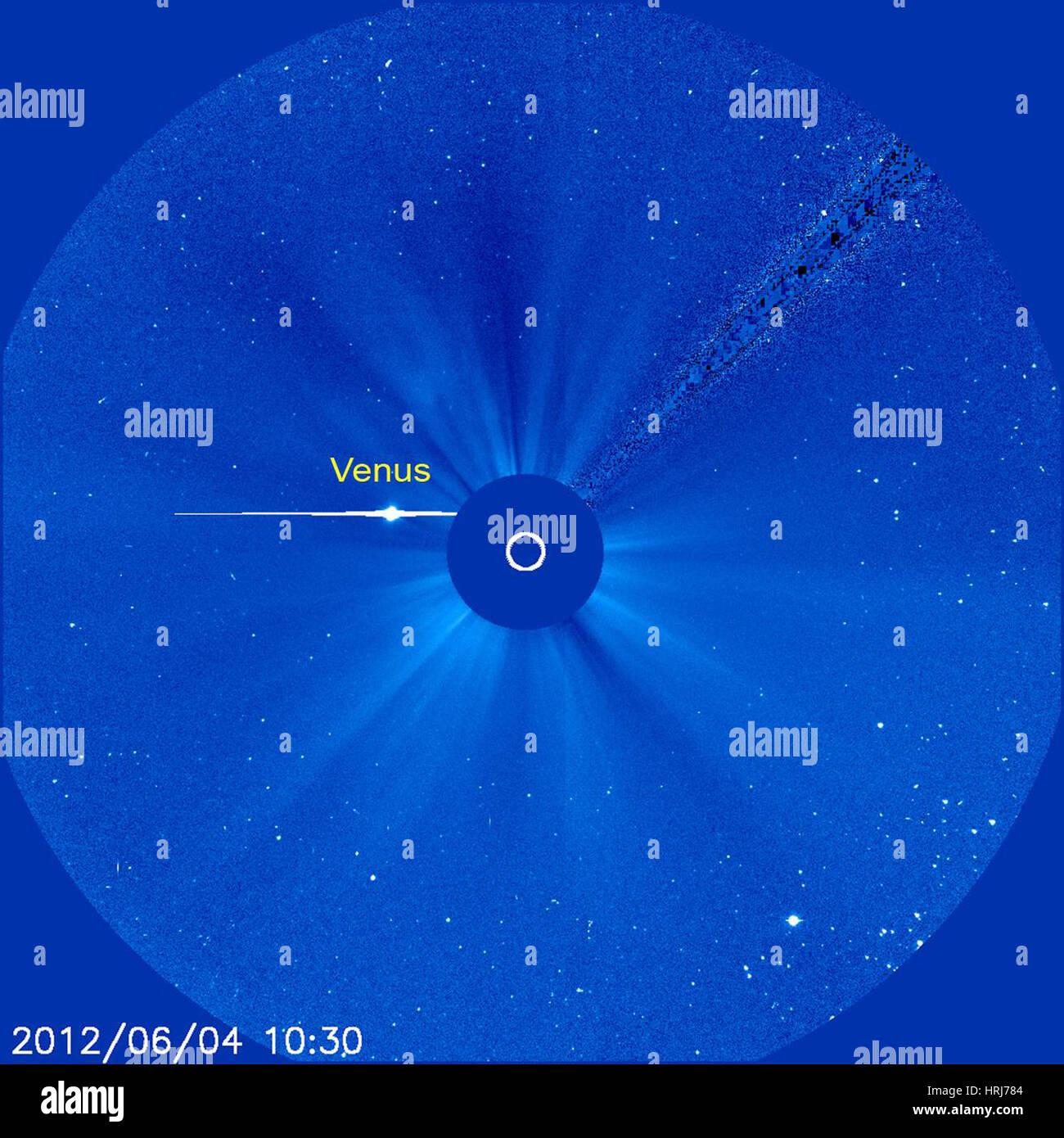 Venus Transit, 2012 - Stock Image