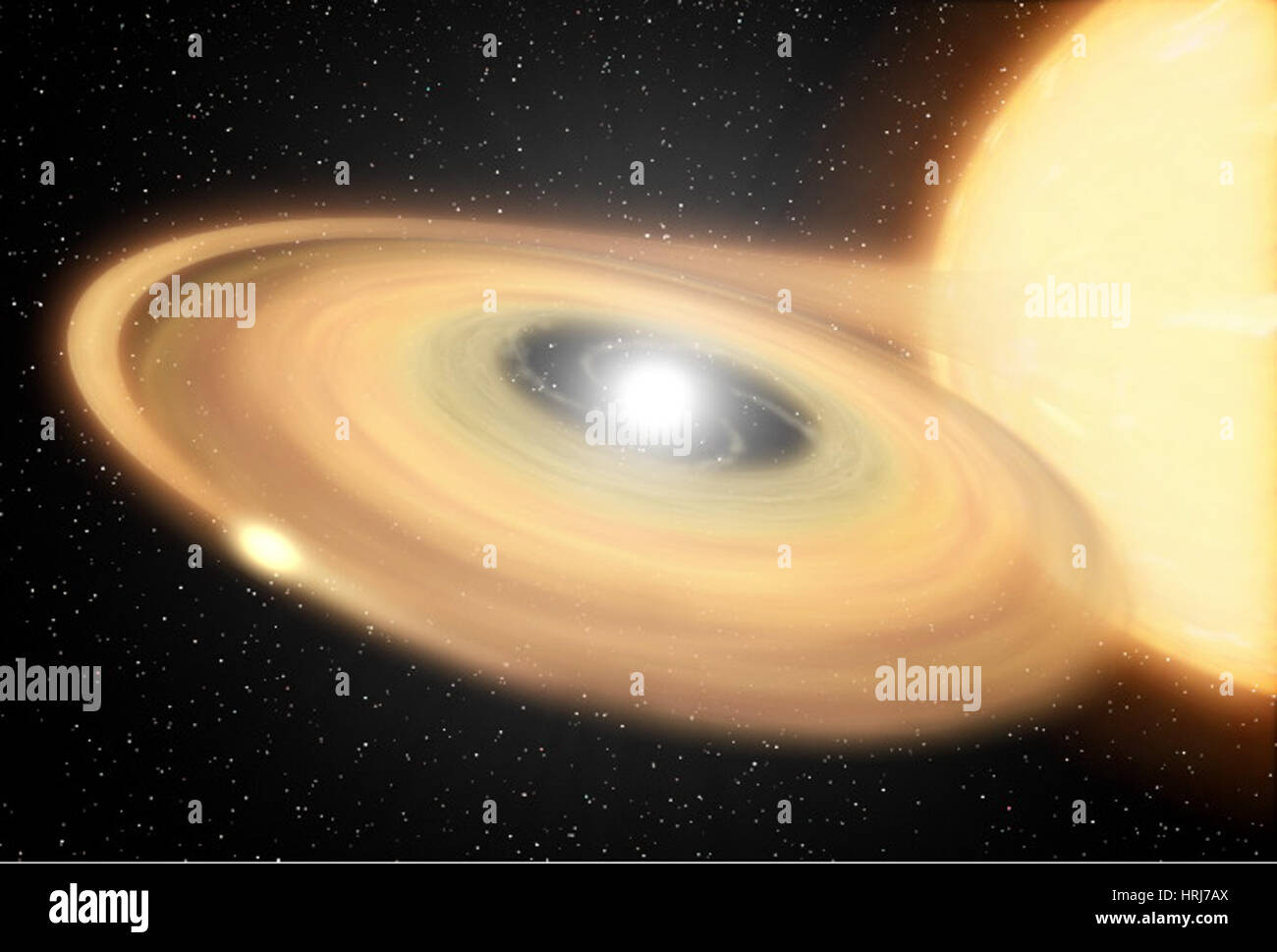 Z Camelopardalis, Z Cam, Cataclysmic Variable Star - Stock Image