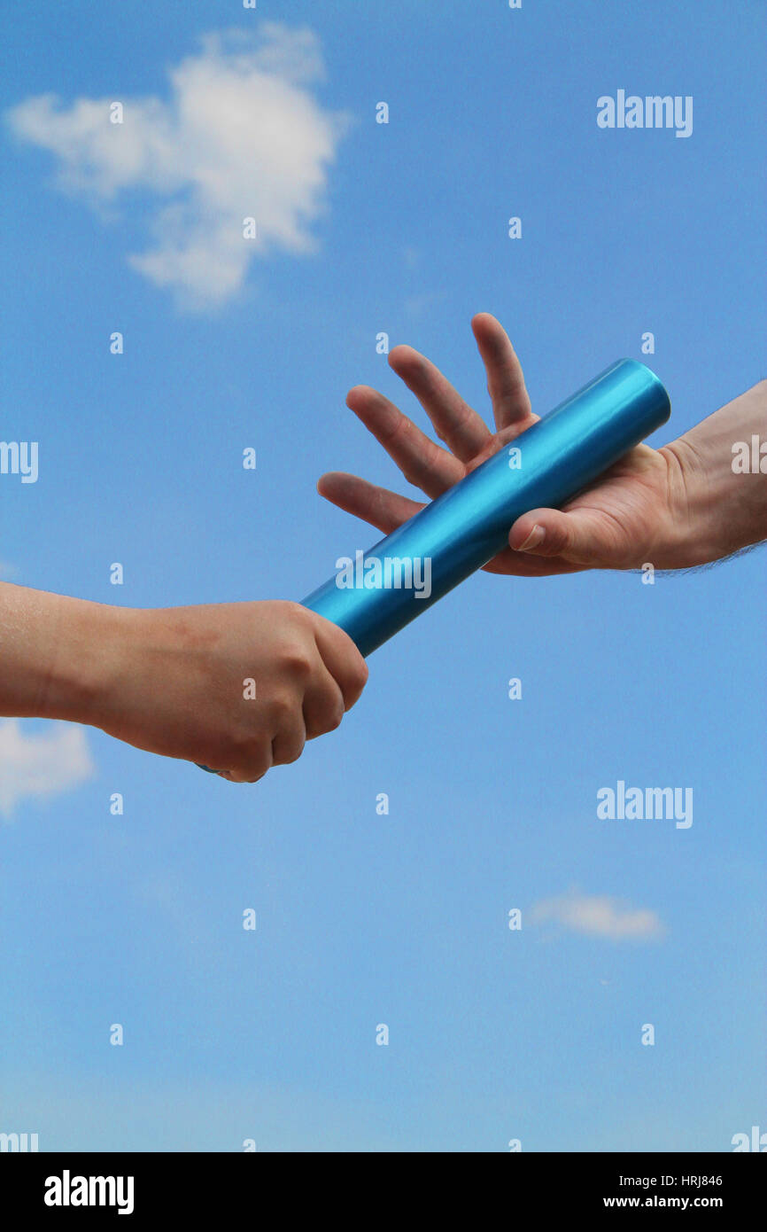 Relay Baton - Stock Image