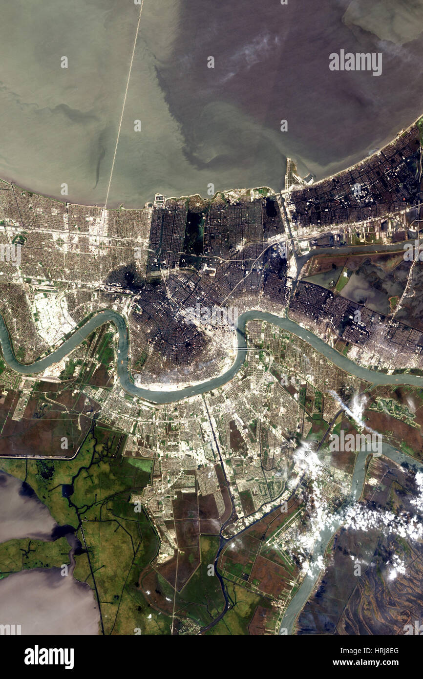 New Orleans After Hurricane Katrina - Stock Image