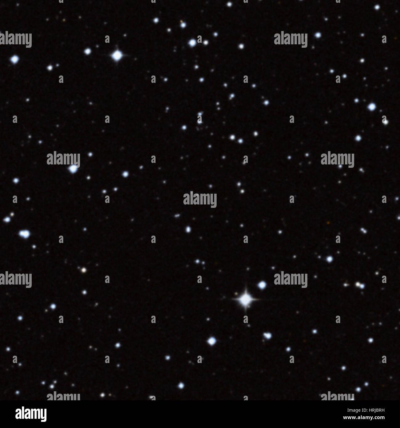 G1.9+0.3, Supernova Remnant, Optical - Stock Image