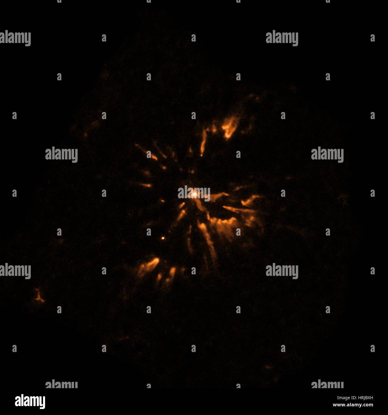 Abell 30, Planetary Nebula, Optical - Stock Image
