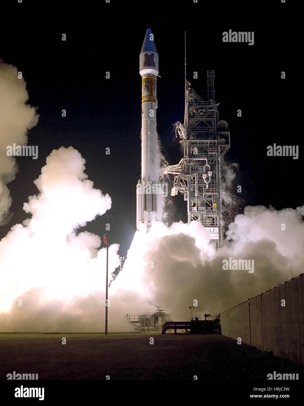 Atlas 2AS Rocket Launch - Stock Image