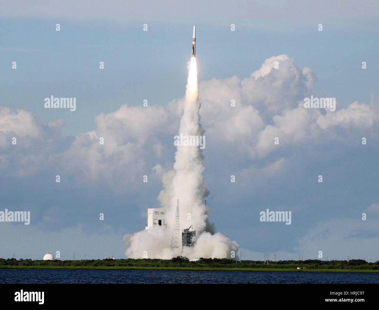 Delta IV Rocket Taking Off - Stock Image