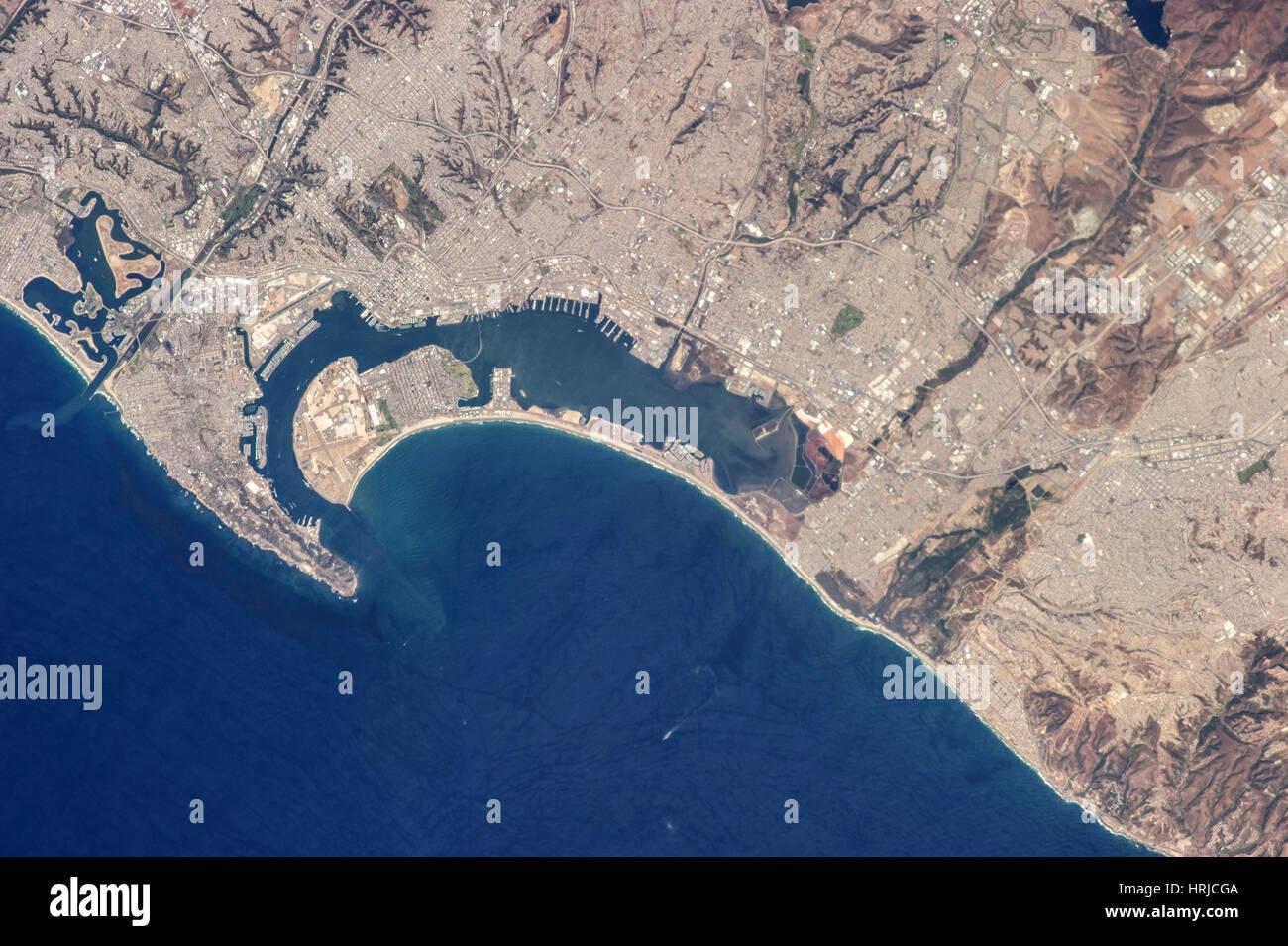 San Diego and Tijuana - Stock Image