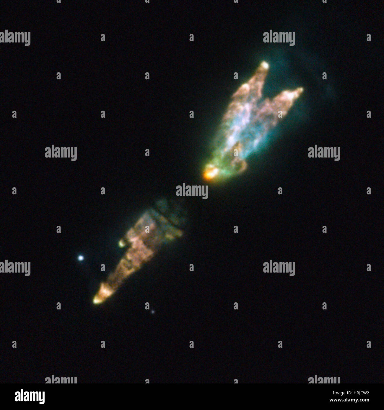 Westbrook Nebula, PK 166-06 1 - Stock Image