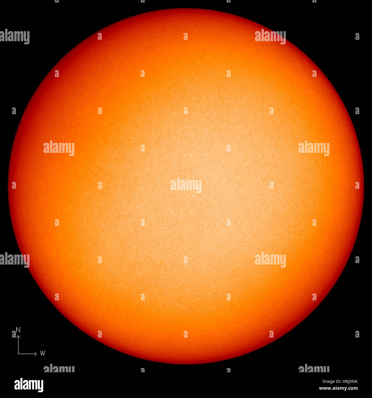 Sunspots, Solar Cycle 24, EIT, 2009 - Stock Image