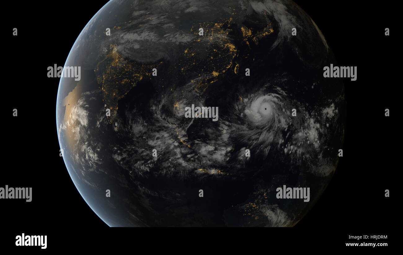 Typhoon Haiyan, 2013 - Stock Image