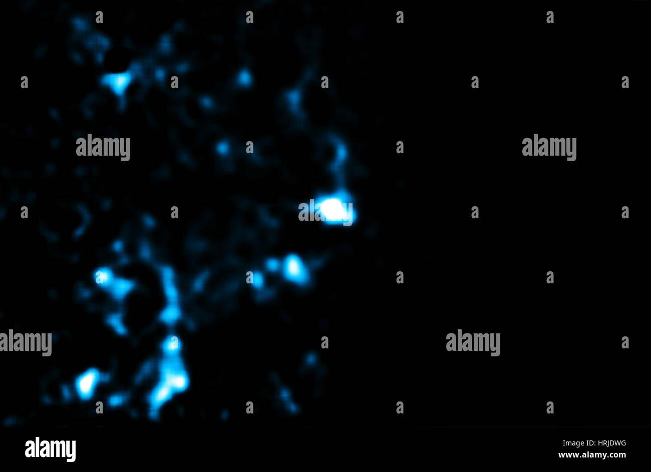 Sagittarius A*, Supermassive Black Hole, 2007 - Stock Image
