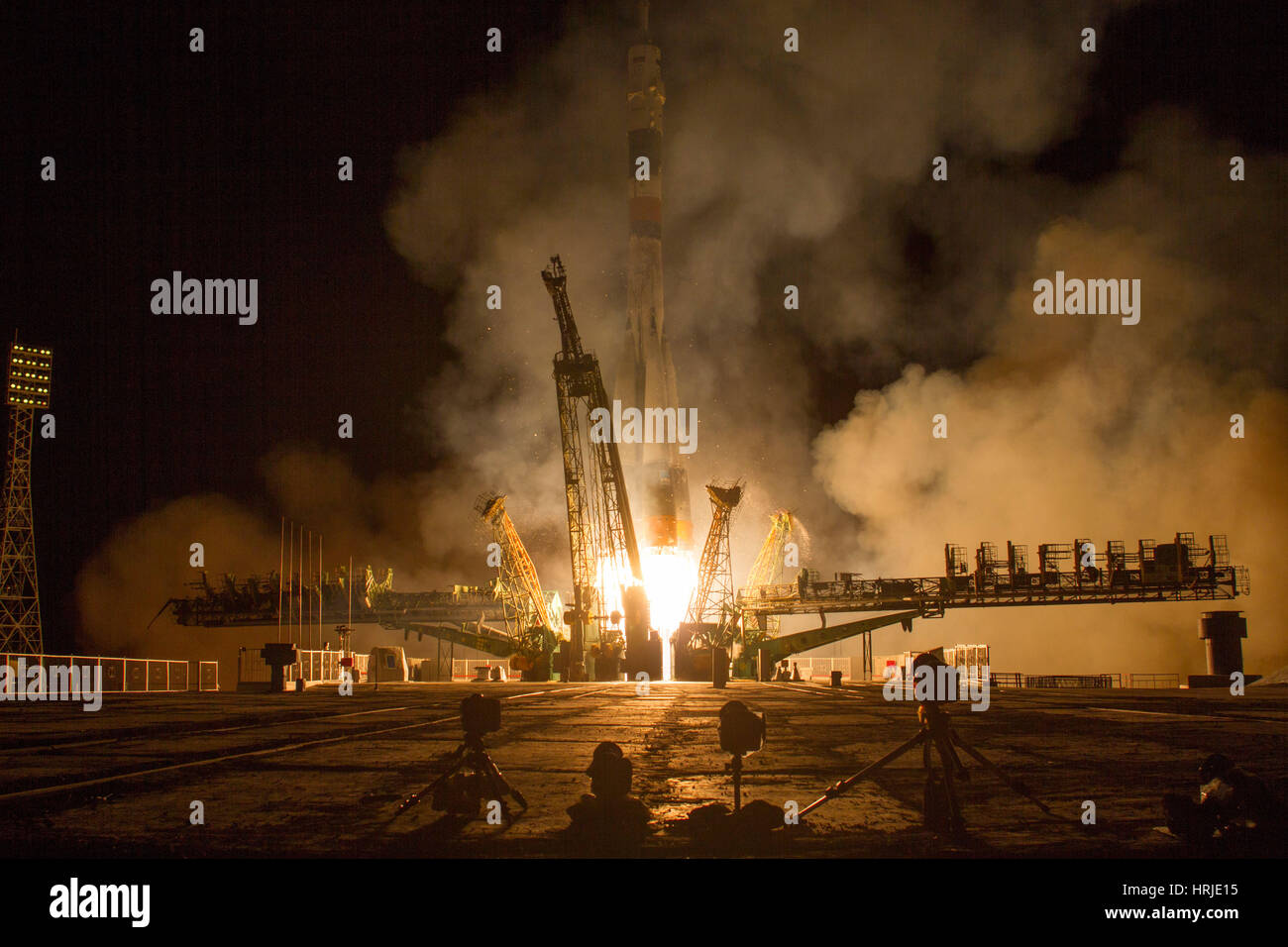 Expedition 37 Launch - Stock Image