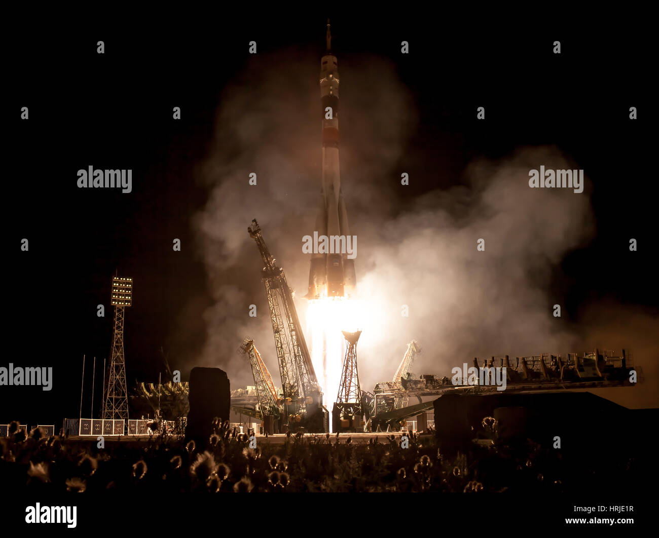 Expedition 36 Launch - Stock Image