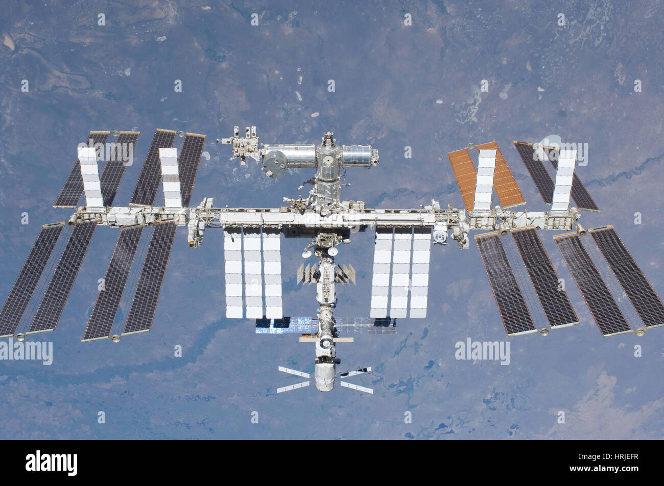 STS-134, International Space Station, 2011 - Stock Image