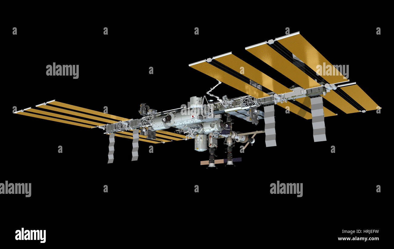International Space Station, 2013 - Stock Image