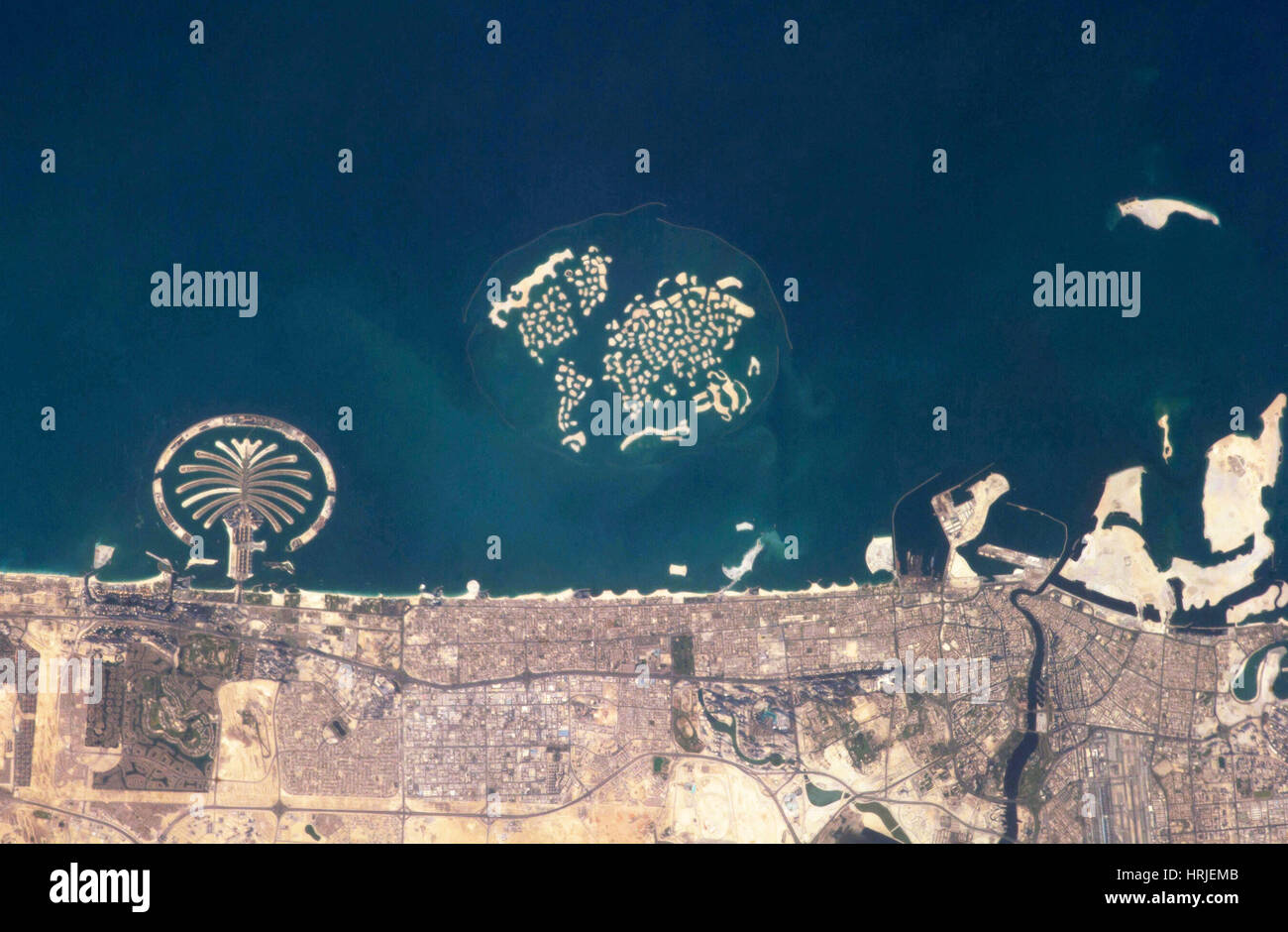 Man-made Islands, Dubai, UAE - Stock Image