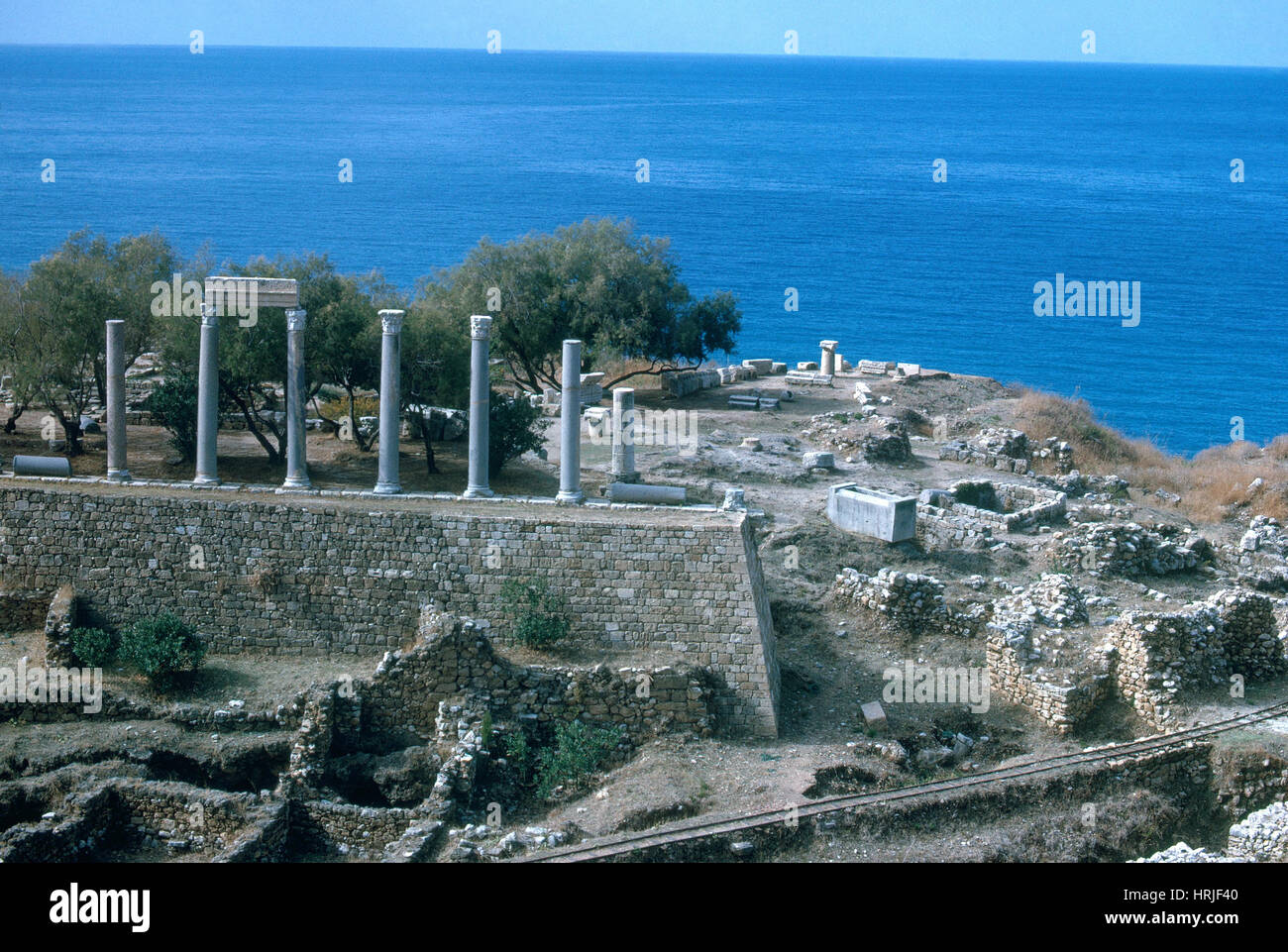 Ancient Ruins, Lebanon - Stock Image
