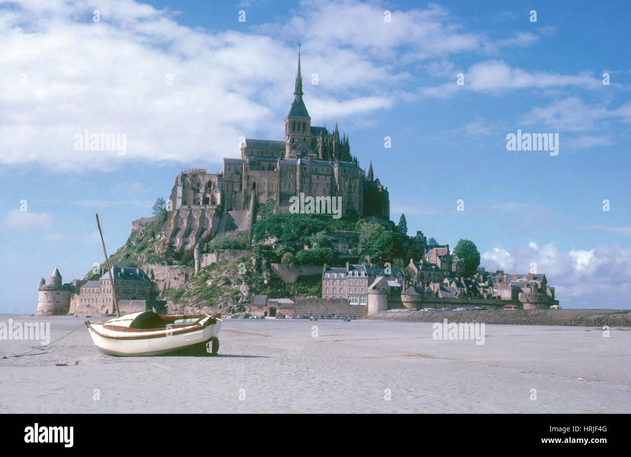Mont Saint Michel - Stock Image