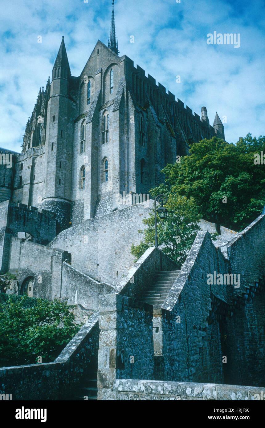 Mont Saint-Michel - Stock Image
