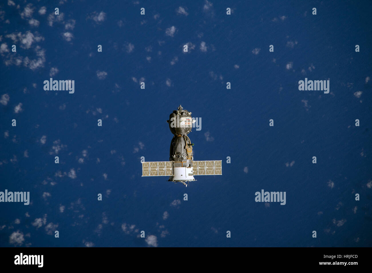 Soyuz Heads Back To Earth 2014 - Stock Image