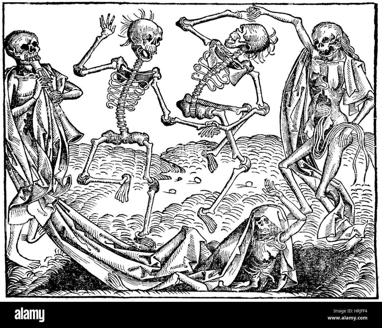 Danse Macabre, Nuremberg Chronicle, 1493