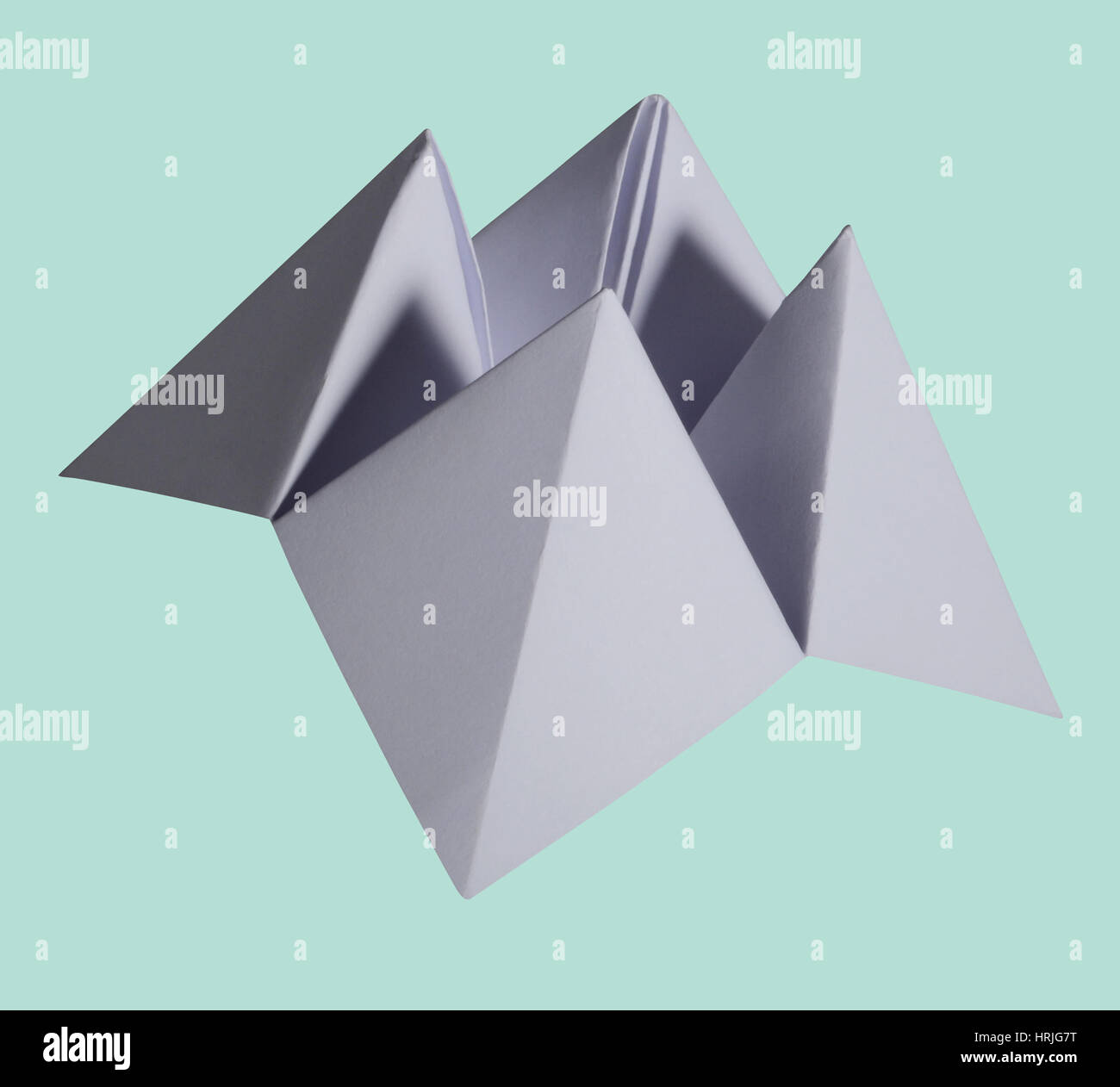 Origami Fortune Teller Stock Photo 135017564 Alamy