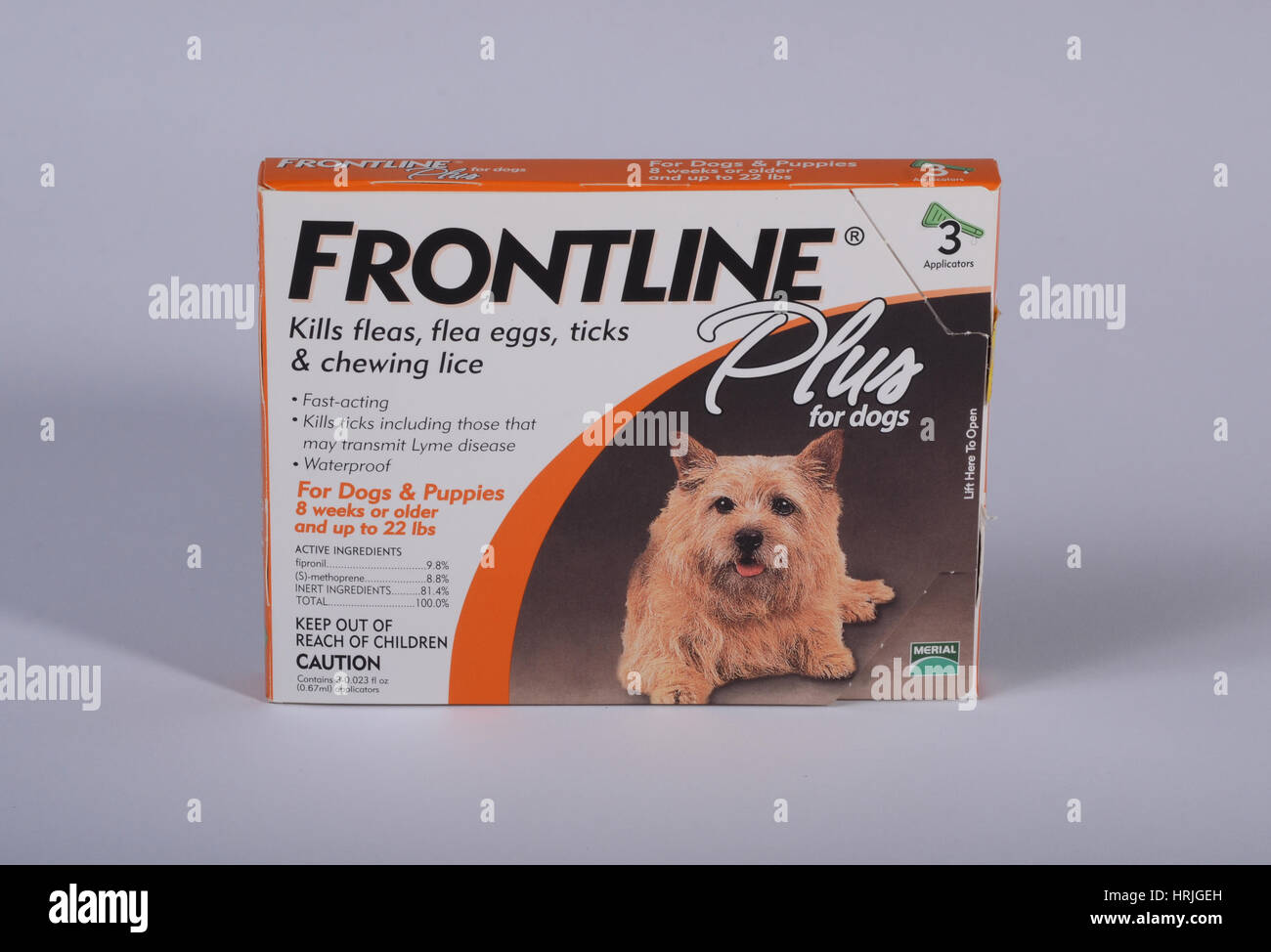 Frontline for Dogs - Stock Image